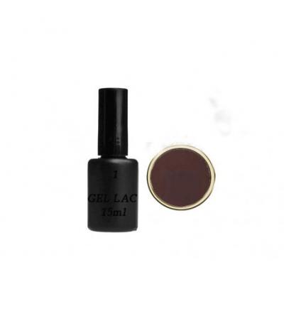 Esmalte permanente  -  Maron  Oscuro   15ml